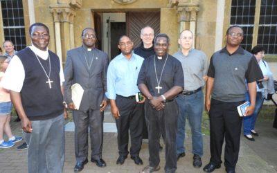 Bischöfe aus Sambia zu Gast im Kloster Marienfeld.