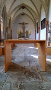 Bisheriger Altar Ansicht